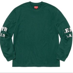 Supreme Cutout Sleeves L/S top